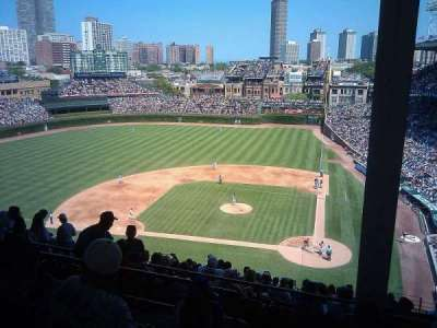 Wrigley Field, section: 516, row: 5, seat: 1