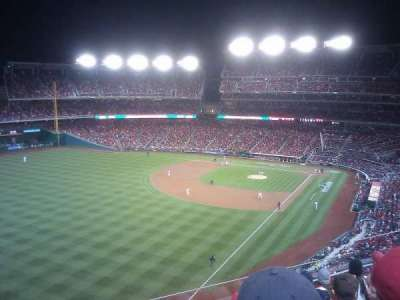 Nationals Park, section: 301, row: F, seat: 11