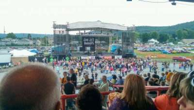 Clearfield County Fair Grandstand, section: D, row: 8, seat: 24