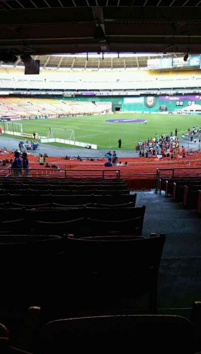 RFK Stadium, section: 315, row: 11, seat: 1