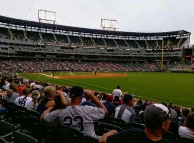 Guaranteed Rate Field, section: 113, row: 15, seat: 1