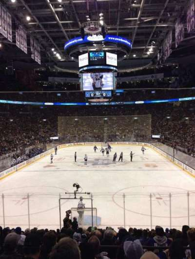Air Canada Centre, section: 113, row: 21, seat: 15