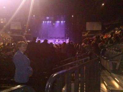 Mandalay Bay Events Center, section: 117, row: A, seat: 6