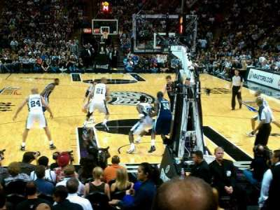 AT&T Center, section: 115, row: 14, seat: 1