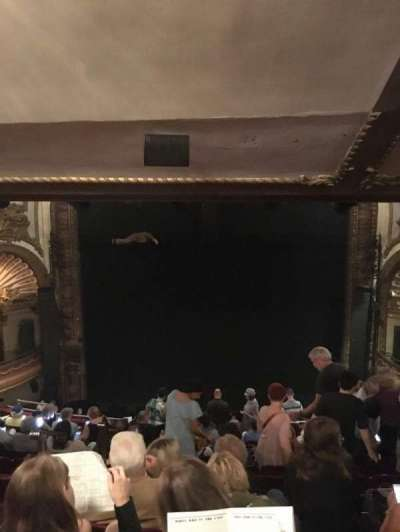 Palace Theatre (Broadway), section: Rear Mezzanine, row: M, seat: 104