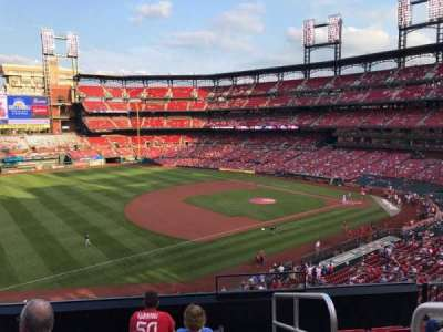 Busch Stadium, section: 263, row: 6, seat: 1