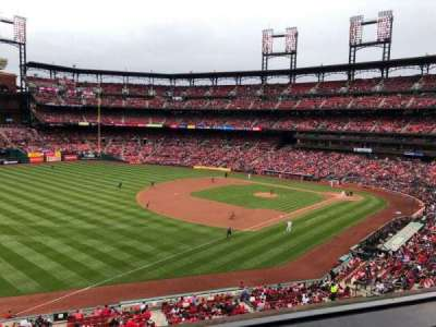 Busch Stadium, section: 265, row: 2, seat: 15