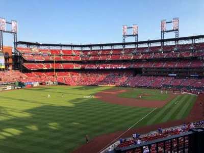 Busch Stadium, section: 268, row: 2, seat: 13