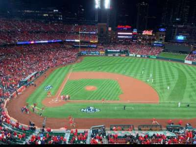 Busch Stadium, section: 345, row: 3, seat: 12