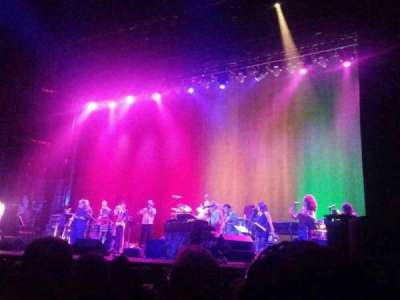 Beacon Theatre, section: Orchestra 2, row: A, seat: 16