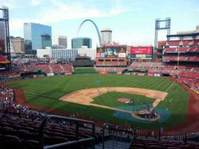 Busch Stadium, section: 252, row: 11, seat: 18