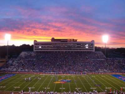 University of Kansas Memorial Stadium, section: 21, row: 59, seat: 12