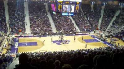 Bramlage Coliseum, section: 7, row: 32, seat: 14