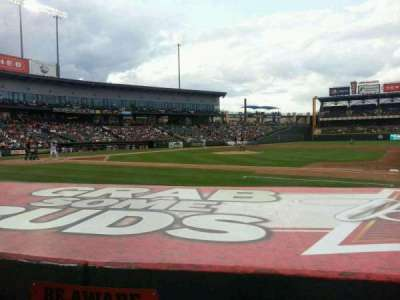 Dell Diamond section 124