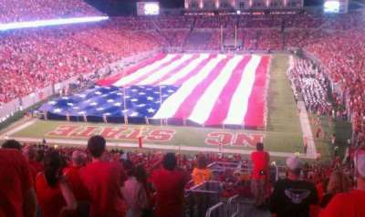 Carter-Finley Stadium, section: 320, row: L, seat: 27