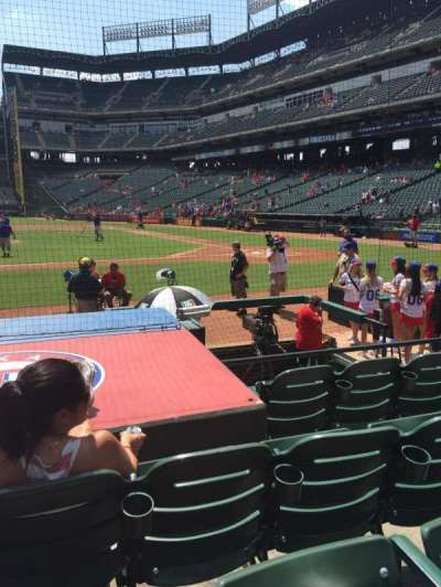 Globe Life Park in Arlington, section: 20, row: 5, seat: 5