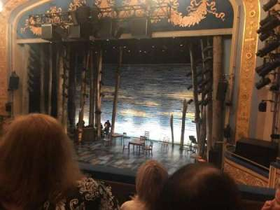 Gerald Schoenfeld Theatre, section: Mezz, row: C, seat: 8