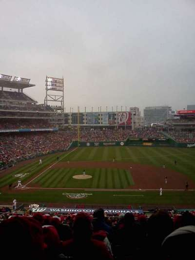 Nationals Park, section: 219, row: D, seat: 11