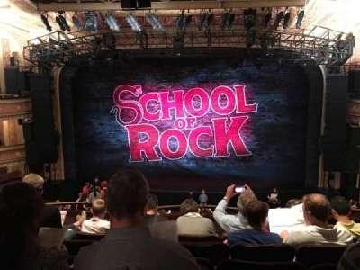 Winter Garden Theatre, section: Mezz, row: G, seat: 120