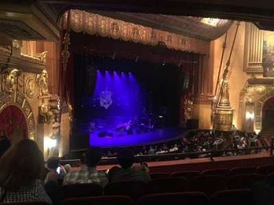 Beacon Theatre section LOGE 3