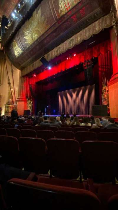 Beacon Theatre, section: Orchestra 2, row: H, seat: 28
