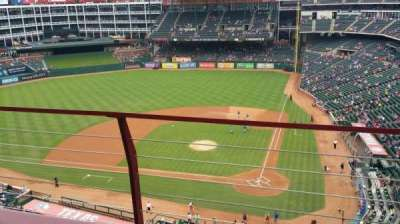 Globe Life Park in Arlington section 322
