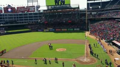 Globe Life Park in Arlington section 222