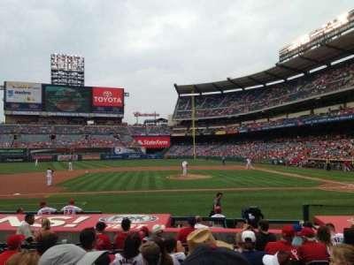 Angel Stadium, section: F112, seat: 11