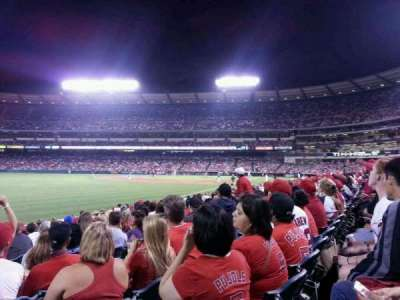 Angel Stadium, section: F104, row: m, seat: 11