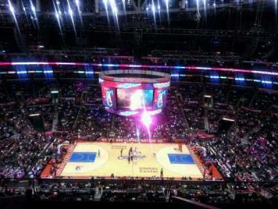 Staples Center, section: 318, row: 8, seat: 20