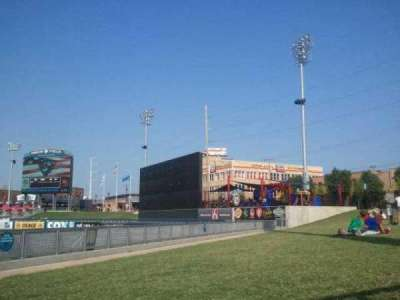 Oneok Field, section: Lawn GA, seat: Lawn