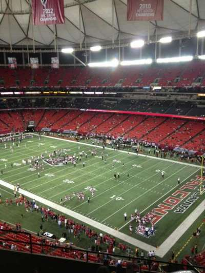 Georgia Dome section 341