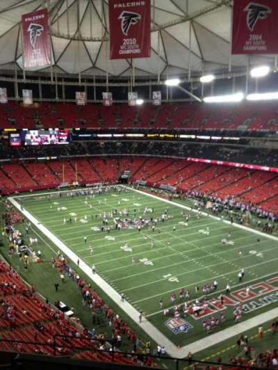 Georgia Dome section 339