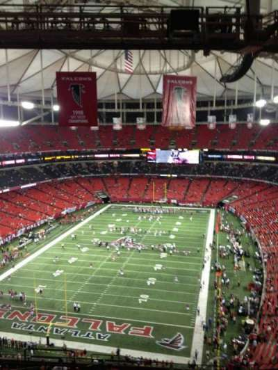 Georgia Dome section 332