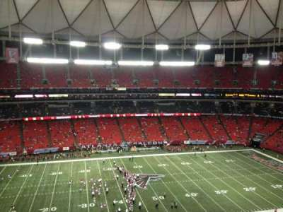 Georgia Dome section 326