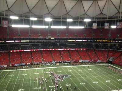 Georgia Dome, section: 326, row: 9, seat: 1