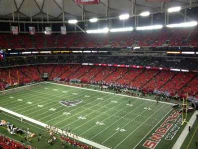 Georgia Dome, section: 320, row: 10, seat: 23