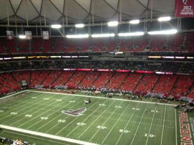Georgia Dome section 343