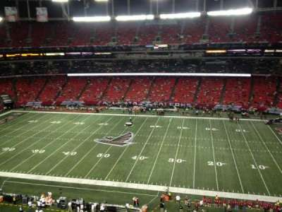 Georgia Dome section 344