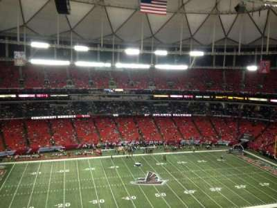 Georgia Dome section 349