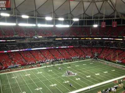 Georgia Dome section 350