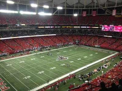 Georgia Dome section 352
