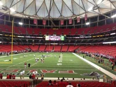 Georgia Dome, section: 104, row: 18, seat: 4