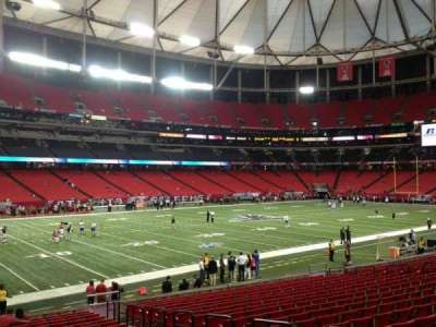 Georgia Dome, section: 140, row: 20, seat: 13
