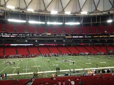 Georgia Dome, section: 137, row: 32, seat: 3