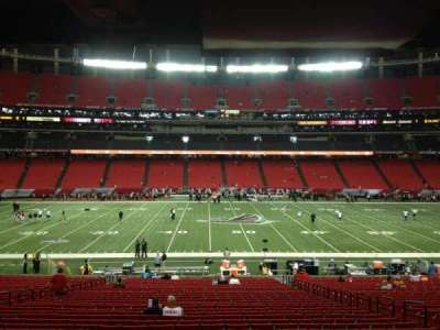 Georgia Dome, section: 136, row: 34, seat: 14