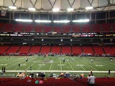 Georgia Dome, section: 135, row: 31, seat: 15