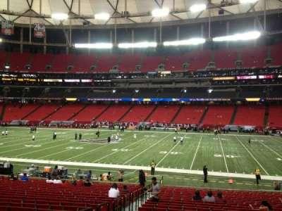 Georgia Dome, section: 133, row: 25, seat: 4