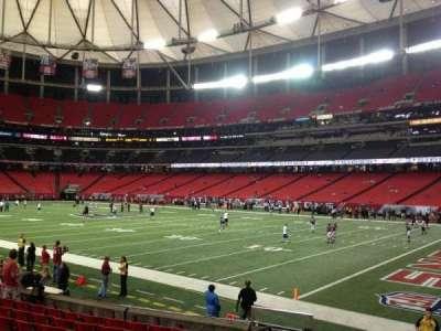 Georgia Dome, section: 130, row: 10, seat: 3