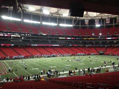 Georgia Dome section 121
